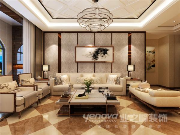 海棠公馆132平现代简约风格装修效果图——太原业之峰装饰