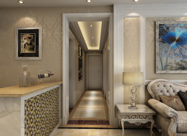 生活家装饰--宏仁家园102平米三居现代简约风格门厅装修效果图