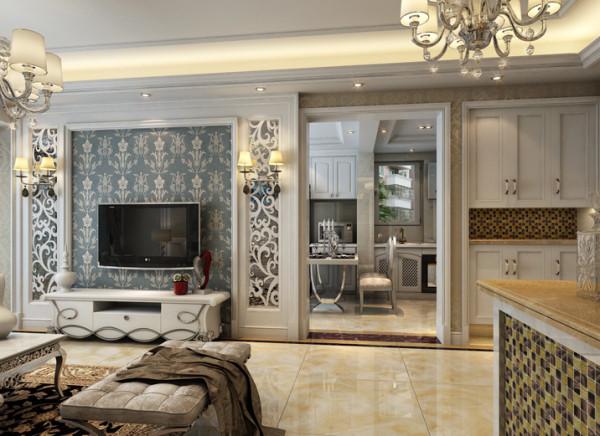 生活家装饰--宏仁家园102平米三居现代简约风格客厅装修效果图