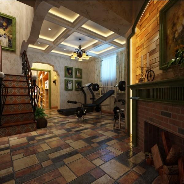 美式风格别墅装修大气楼梯