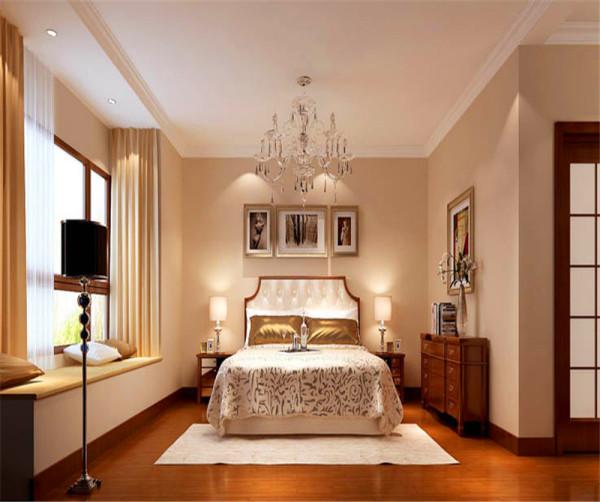 平层公寓简约欧式卧室装修效果图片_装修美图-新浪网