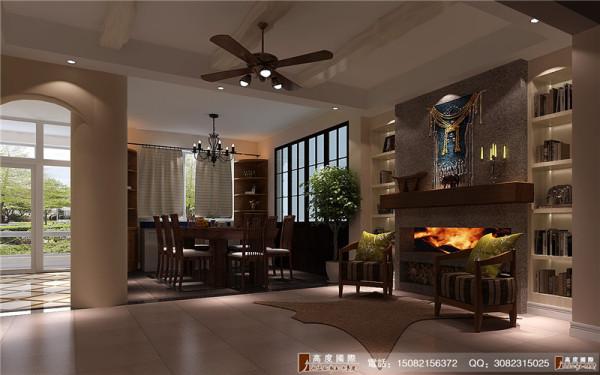 恒大金碧天下餐厅细节效果图-----高度国际装饰设计