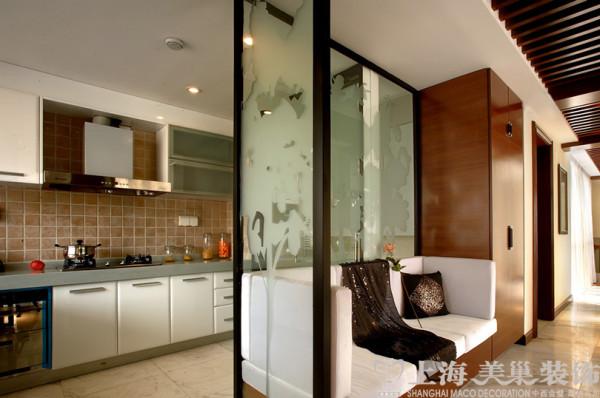 普罗旺世别墅装修新中式风格设计——厨房