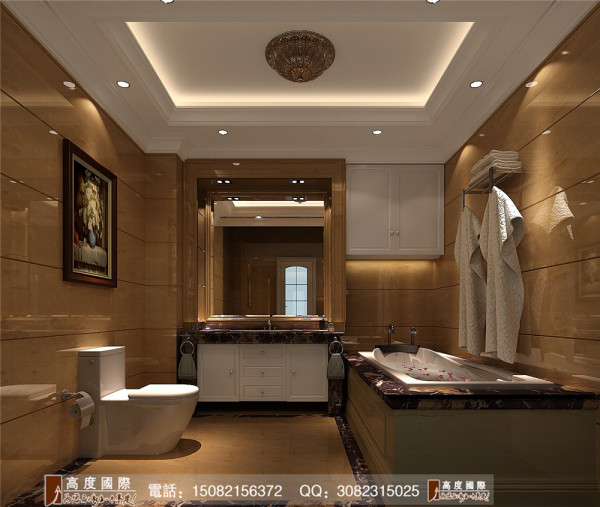 四海逸家卫生间细节效果图-----高度国际装饰设计