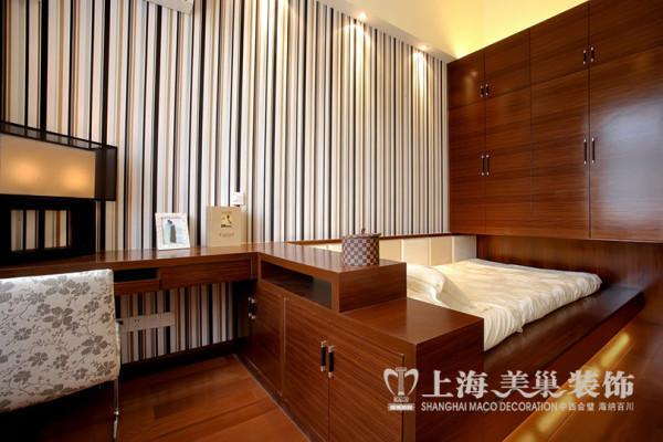 普罗旺世别墅装修新中式风格设计——卧室