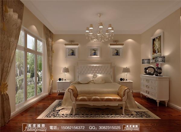 四海逸家主卧室细节效果图-----高度国际装饰设计