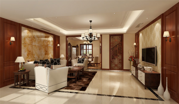 圣淘沙别墅户型装修现代风格设计方案展示,腾龙别墅设计师林财表作品,欢迎品鉴!