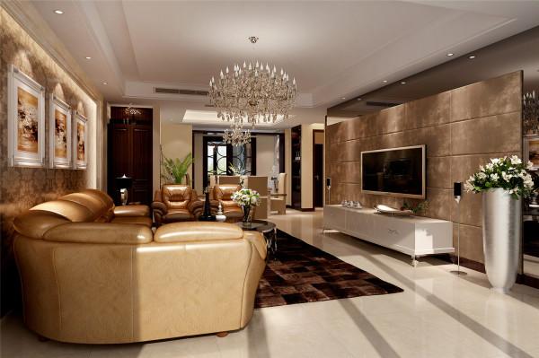 尚海湾公寓户型装修现代风格设计方案展示,腾龙别墅设计师林财表作品,欢迎品鉴!