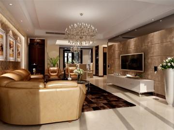 尚海湾四房装修现代风格设计