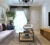花果园74㎡三房美式风格装修案例