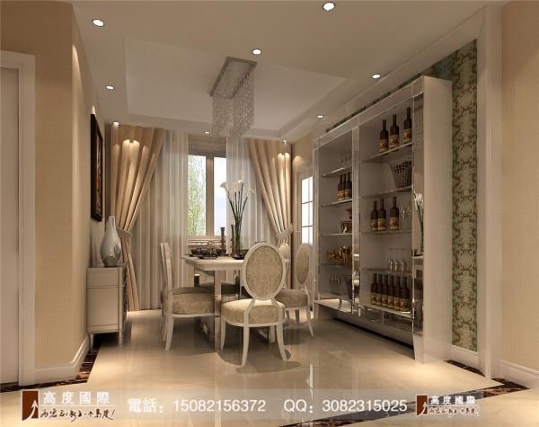 九龙仓御园餐厅细节效果图----高度国际装饰设计
