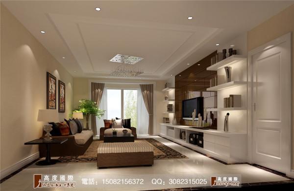 九龙仓御园客厅细节效果图----高度国际装饰设计