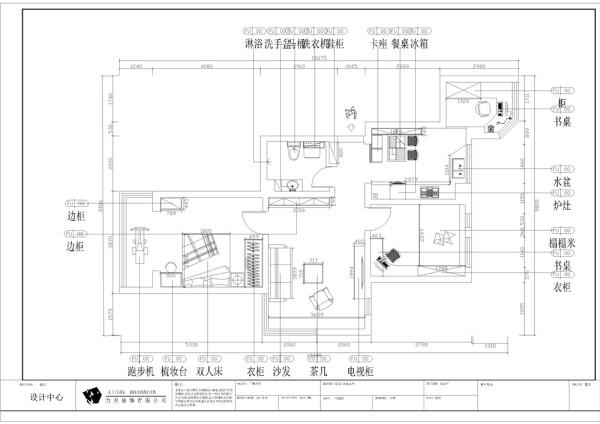 型的空间布局也比较合理。从入户门进入左手边是厨房和餐桌的位置,再往里走是书房的位置。厨房和书房的通风和采光都比较好,入户的右手边是卫生间的位置,卫生间的空间中规中矩。