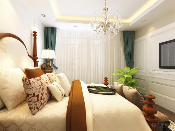 本户型整体设计具有欧式特色,具有西方文化风韵,表现了主人的地位和品位。