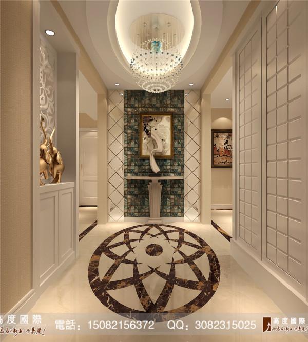 九龙仓御园门厅细节效果图----高度国际装饰设计