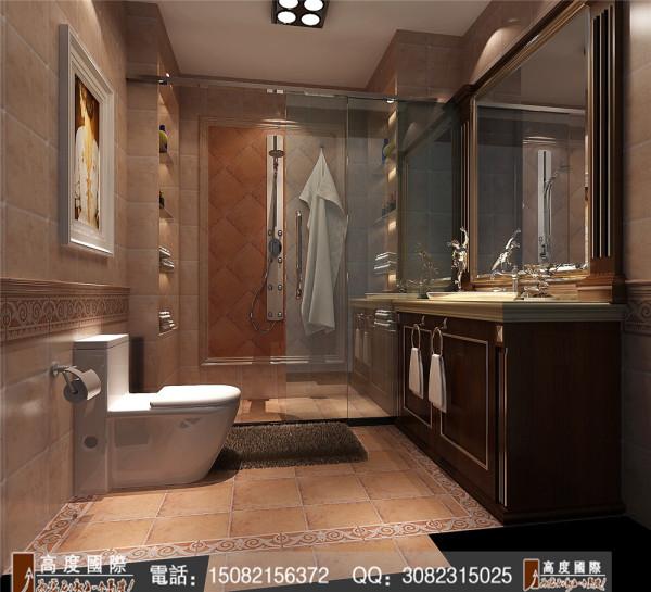 九龙仓御园卫生间细节效果图----高度国际装饰设计