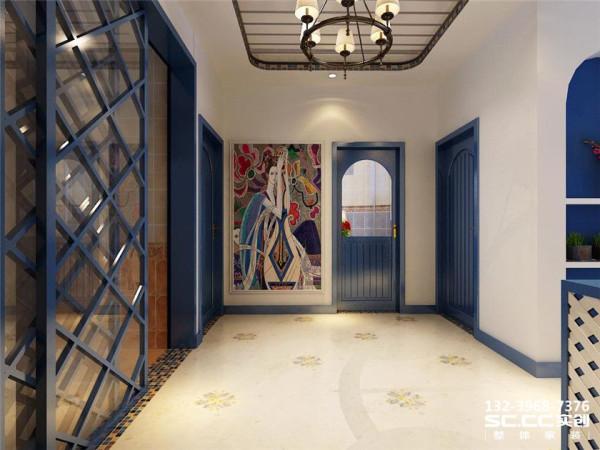 设计 理念过廊作为过渡区间,采用白色的主色,搭配马赛克装饰复色,既迎合了地中海的洁净,又摒弃了复杂的造型,自然大方。 主材 说明福乐阁 金意陶