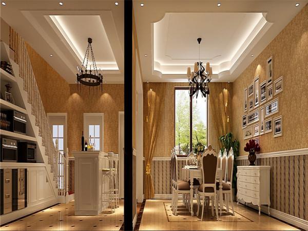 欧式餐厅对于欧美人来说既是餐饮的场所,更是社交的空间。因此淡雅的色彩、柔和的光线、洁白的桌布、华贵的线脚、精致的餐具加上安宁的氛围、高雅的举止都是欧式餐厅的特点。