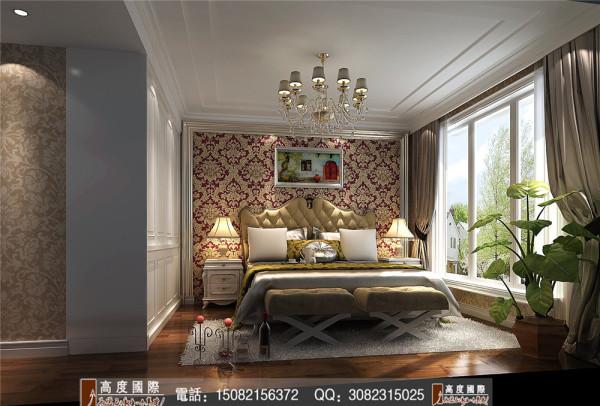 九龙仓御园主卧室细节效果图----高度国际装饰设计