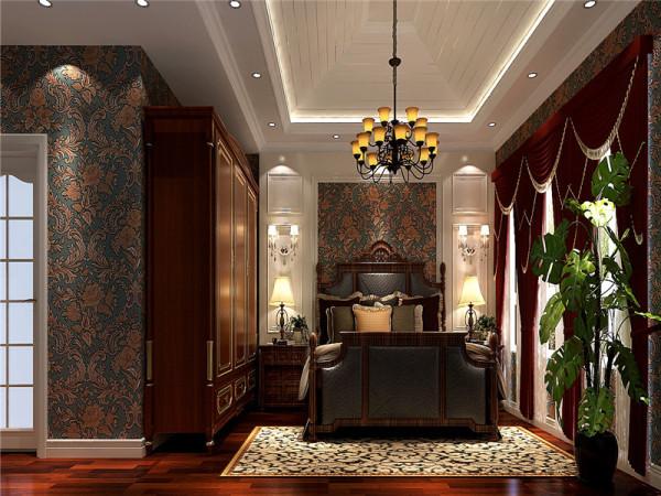 主卧:欧式的居室有的不只是豪华大气,更多的是惬意和浪漫。