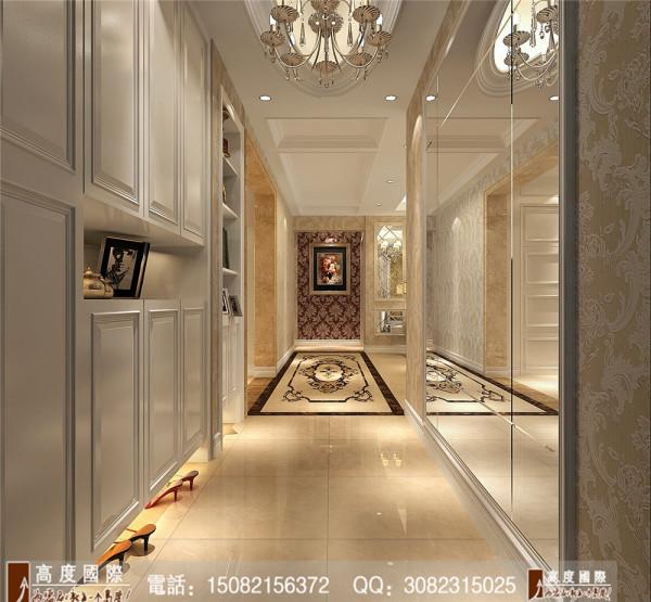 九龙仓御园玄关细节效果图----高度国际装饰设计