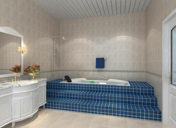 卫生间台阶式的浴缸设计丰富了设计理念,给你疲惫的身心找到释放的最终归宿。整体设计没有采用过于繁复的细节,从面材到家具再到配饰,搭配地恰到好处,既满足了生活需要,又使该空间更有现代感和设计感。