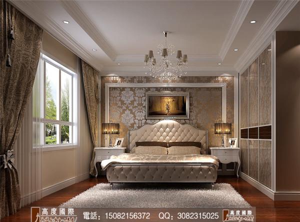 九龙仓御园卧室细节效果图----高度国际装饰设计