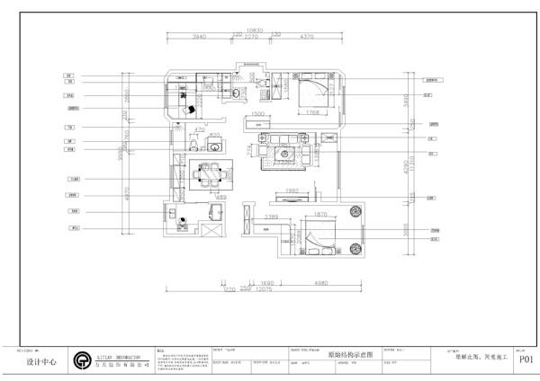 本户型为福祥园3室2厅1厨1卫120㎡户型功能分区较为清晰,空间流线较好。入户门正对着的位置是玄关,空间宽敞,通风采光极好。入户门右手边是餐厅,该户型有明显的餐厅空间,餐厅空间较大,后期会做一些造型 。