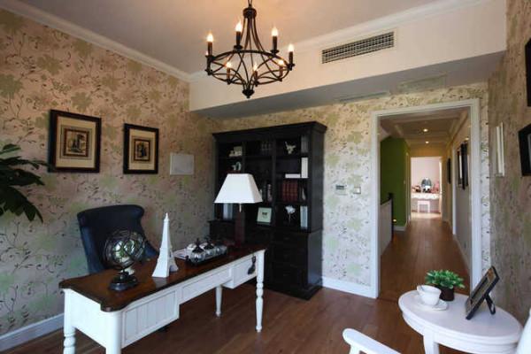 别墅案例 芈月传 书房图片来自家居装饰-赫拉在英式田园风格样设计