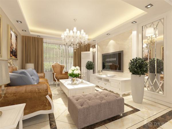 本案为金喜园,三室两厅两卫112㎡户型。本案风格定义为简约欧式。