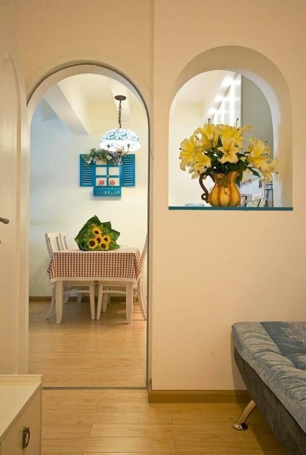 三居旧房改造收纳80后小资别墅地中海风格其他装修效果图片 装修美高清图片