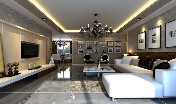 宽大的落地窗增加了室内采光,增添了家庭氛围的暖意
