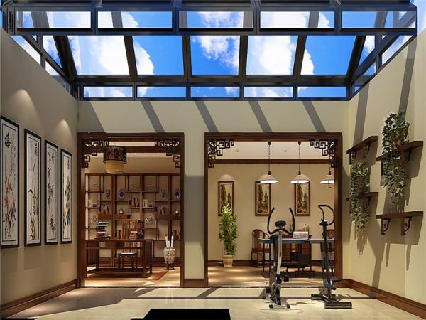 地下休闲区:家具式样精炼、简朴,雅致;作工讲究,装饰文雅。
