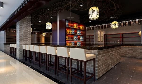独具特色的设计更使餐饮区更加吸引视线