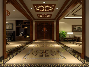 250㎡中式风格公寓