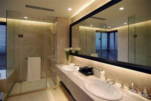 四居室 现代 黑白灰 卫生间图片来自装修早知道-在奢华现代-尊享定制