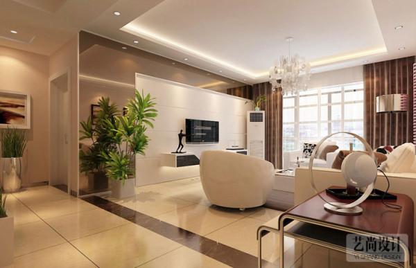 和昌湾景国际115平方三室两厅装修效果图
