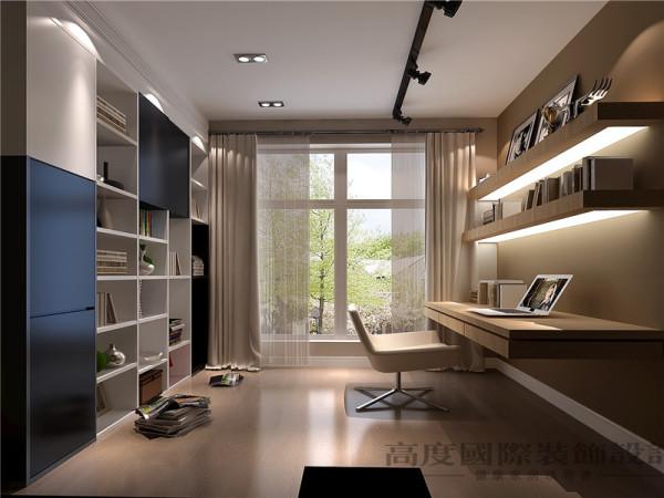 视觉可以刺激神经,反射到大脑皮层,让人产生愉悦的情感,从而让整个书房更富有生气。