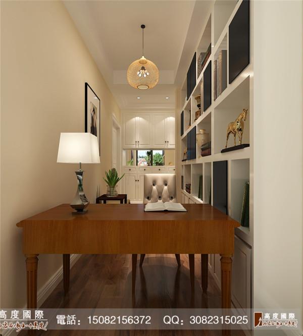 名著司南书房细节效果图---高度国际装饰设计最新案例