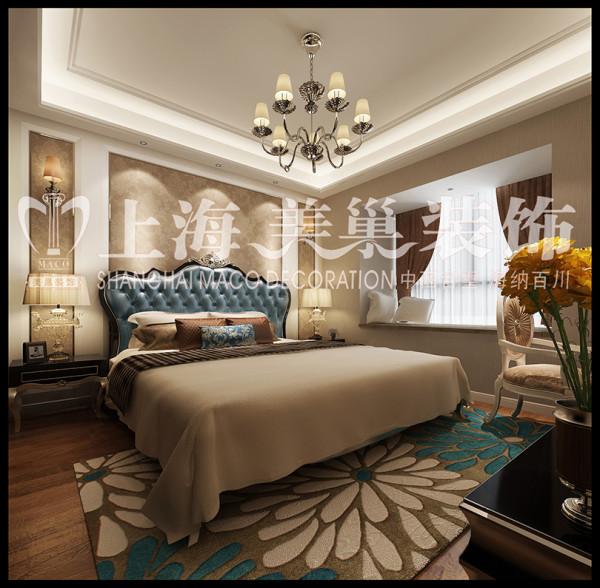 城市花园87平两居室简约装修效果——卧室 案例来源:  http://www.chinamaco.cn/?u=19