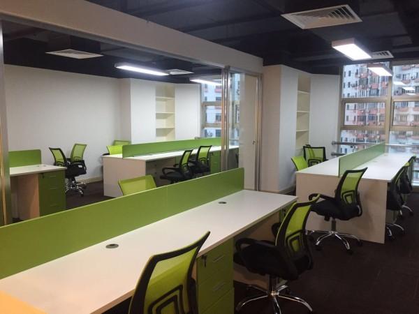 公装无忧,办公室装修经典案例,申鑫大厦项目