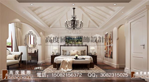 蜀郡卧室细节效果图----高度国际装饰设计最新案例