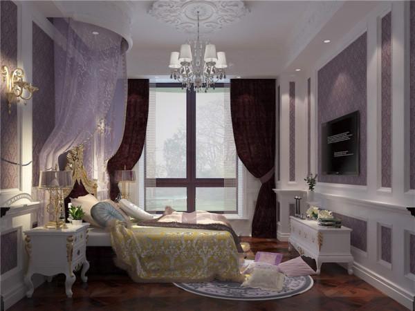 女孩房:墙面用粉色高档壁纸,或优质乳胶漆,以烘托温馨效果。