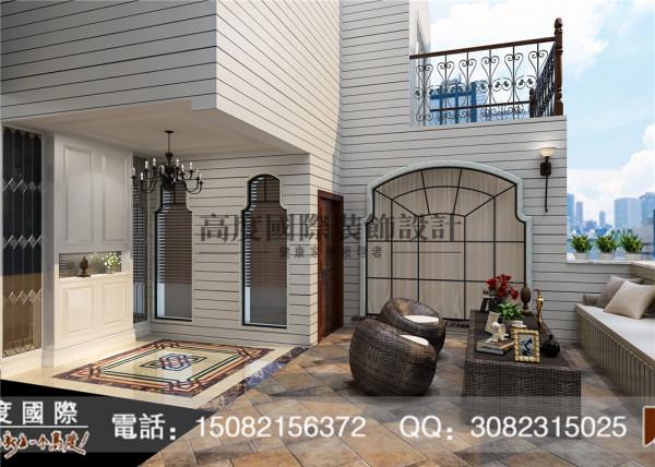 蜀郡门厅细节效果图----高度国际装饰设计最新案例