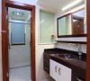 万达西地177平米现代中式三居室