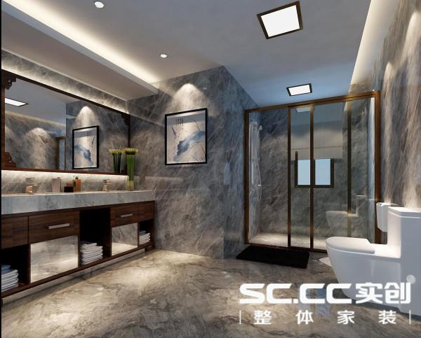 设计理念:合理的干湿分区,让空间用起来舒适自如。墙面与地面采用一样的地砖。简洁明快视野开阔。