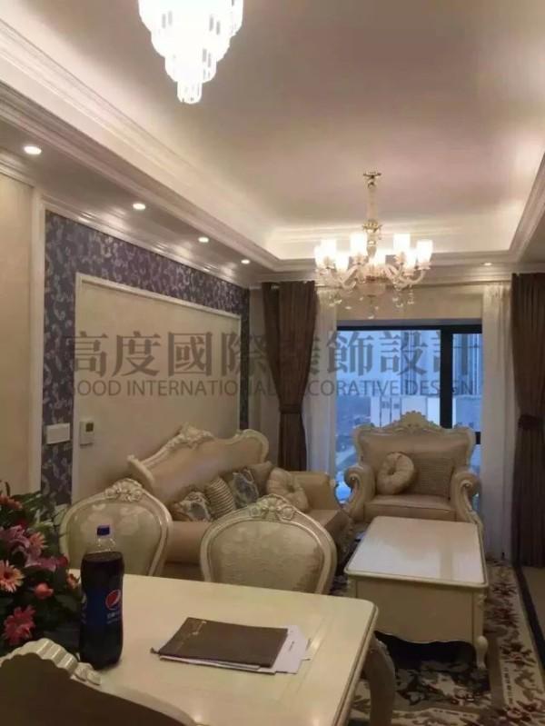 【高清】实景照片 百合花园装修 客厅