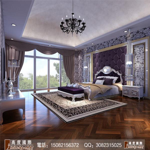 泰悦湾主卧室细节效果图----高度国际装饰设计最新案例