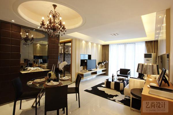 郑州金林中心98平方两室两厅装修效果图