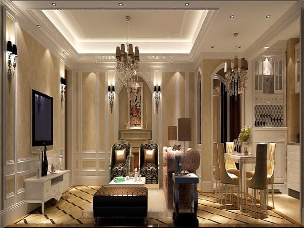 强调以华丽的装饰、浓烈的色彩、精美的造型达到雍容华贵的装饰效果。